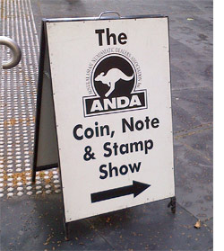 2013 Coin Show Report - ANDA Sydney