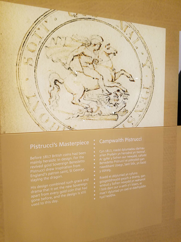 The Royal Mint Experience in Wales