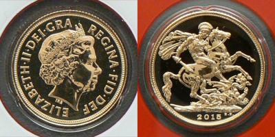 2015 Indian gold sovereigns for sale