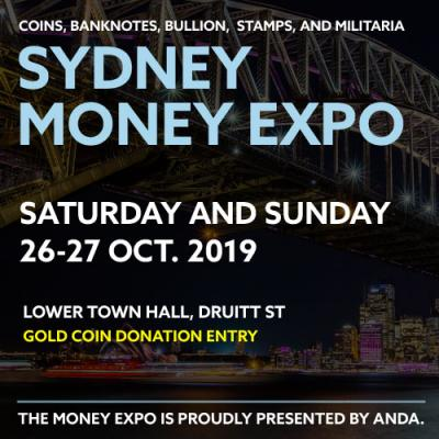 The 2019 Sydney Money Expo is on in October