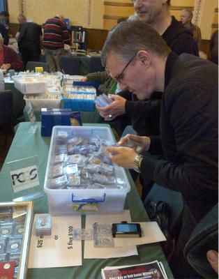 Petersham Coin Show Report August 2014