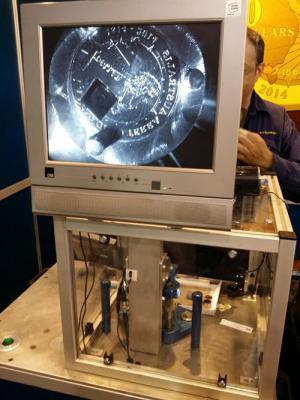 Mint your own coins at the 2014 Royal Easter Show