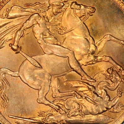 The Caranett Collection of gold sovereigns