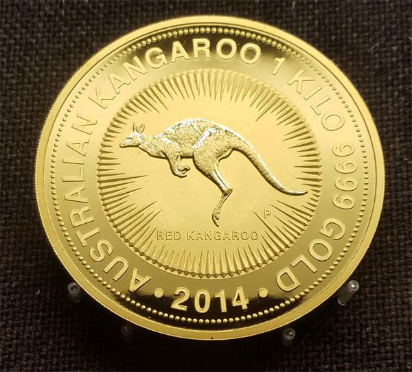 1 kilo gold coin