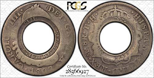 1813 Holey Dollar