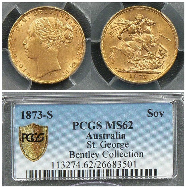 1873S Sovereign