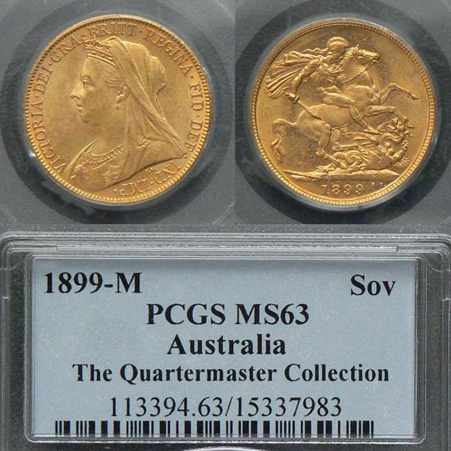 1899M Sovereign