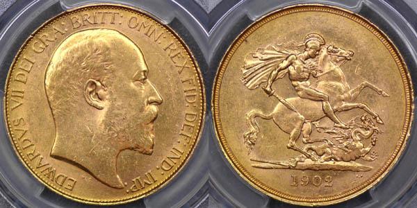 1902 UNC Five Pound