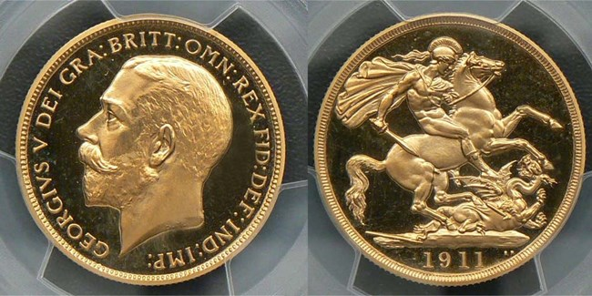 1911 two pound deep cameo