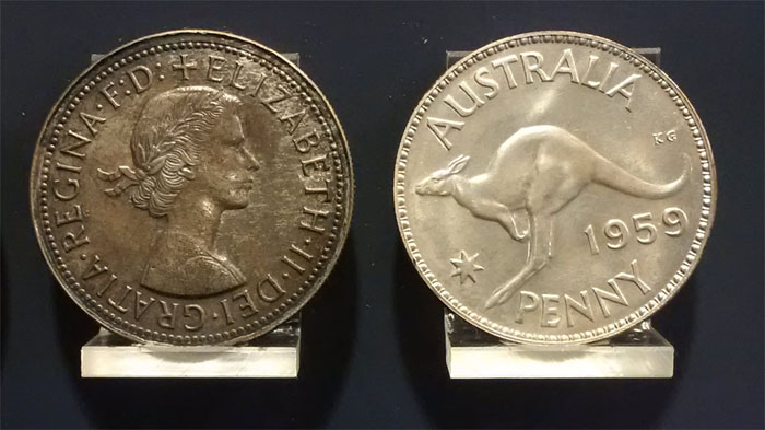 1959 Silver Penny pattern