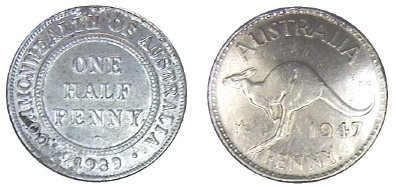 1939 half penny