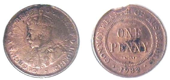 1932 penny