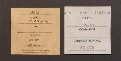 ACGS certificate