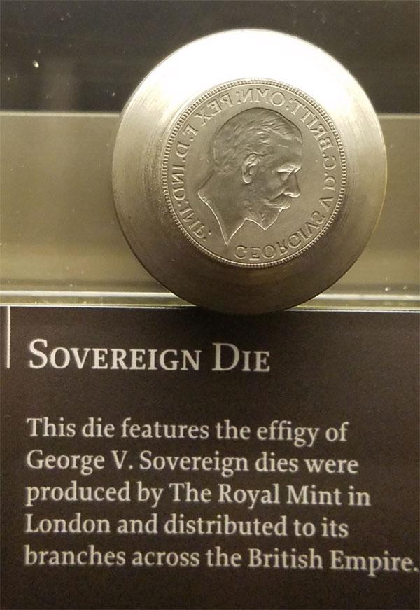 Perth Mint coin die