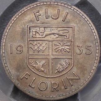George Kruger-Gray Fiji florin