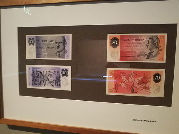 Proposed decimal banknote designs