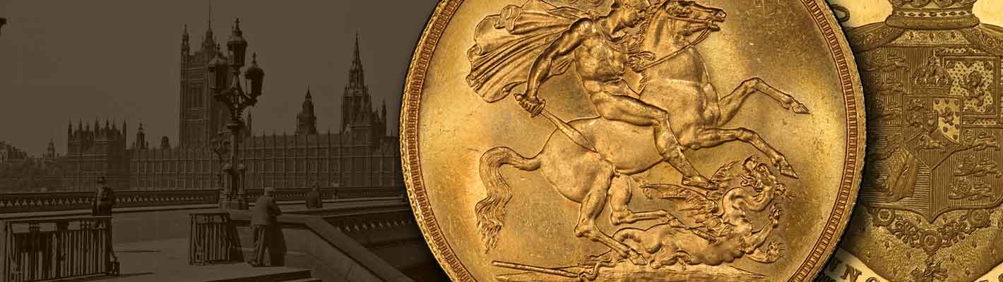 Gold £5 and £2