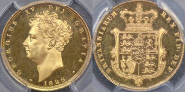 1826 Proof Sovereign