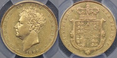 1828 Sovereign