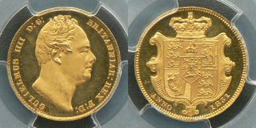 1831 Proof Sovereign