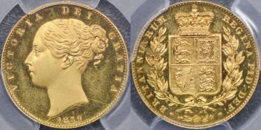 1839 Proof Sovereign