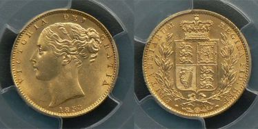 1853 Sovereign