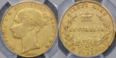 1856 Sydney Mint Sovereign