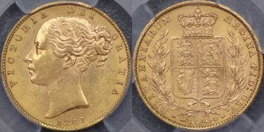 1861 Sovereign