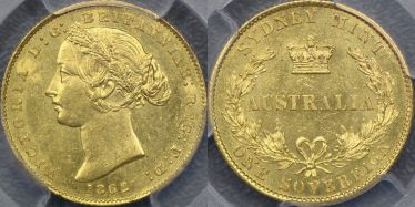 1862 Sydney Mint Sovereign