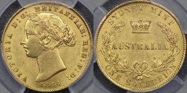 1866 Sydney Mint Sovereign