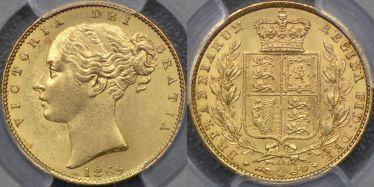 1869 Sovereign