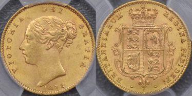 1872 Sydney Half Sovereign