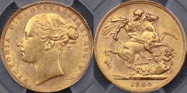 1884 Sovereign