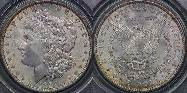 1887 One Dollar