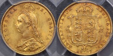 1887 Half Sovereign