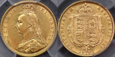 1891 Sydney Half Sovereign