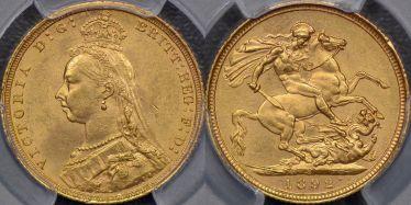 1892 Sydney Sovereign