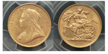 1893 Two Pound