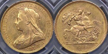 1893 Five Pound