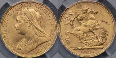1894 Sydney Sovereign
