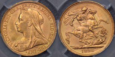 1896 Sovereign