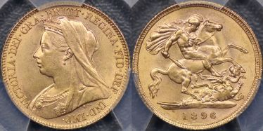 1896 Half Sovereign