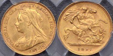 1897 Sydney Half Sovereign