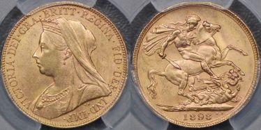 1898 Sovereign