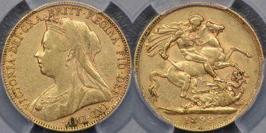 1899 Perth Sovereign