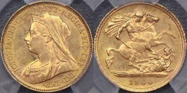 1900 Sydney Half Sovereign