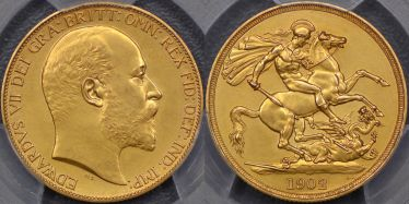 1902 Proof Two Pound