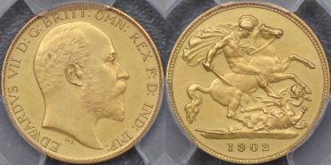 1902 Proof Half Sovereign