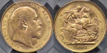 1902 Melbourne Sovereign