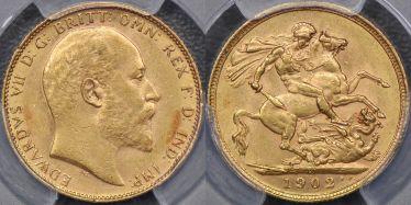 1902 Perth Sovereign